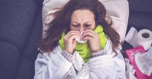 5 dicas simples para aliviar os sintomas da gripe