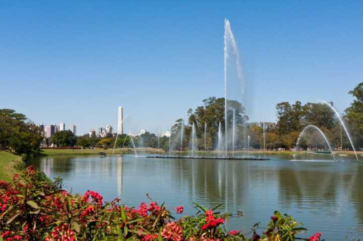 Parque Ibirapuera, um dos cartões-postais de São Paulo