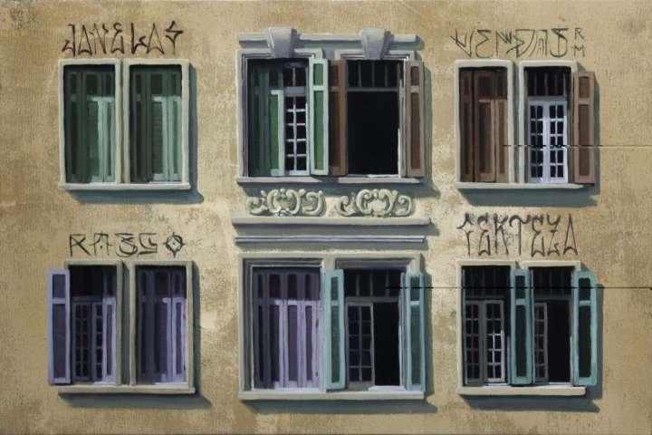 Além de pintor, Apolo Torres também é muralista