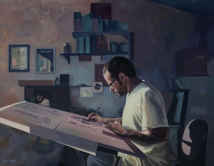 Janelas é a oitava exposição individual de Apolo Torres