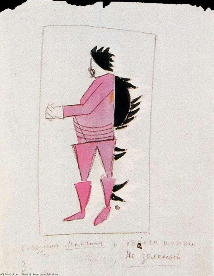 Projeto de Malevich está na exposição