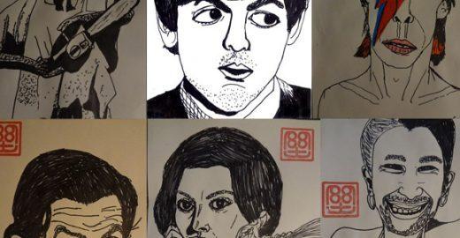 Veja os desenhos incríveis de um menino de apenas dez anos