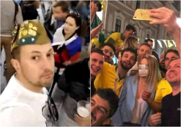 Policial militar está entre brasileiros que assediaram mulher em vídeo na Rússia