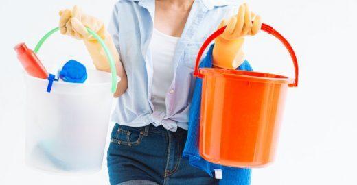 Soluções sustentáveis e econômicas para a limpeza da casa
