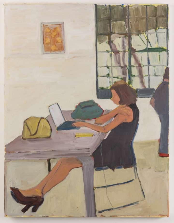 Obra de Rosana Pagura ntegra a exposição