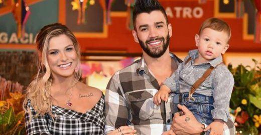 Gusttavo Lima celebra aniversário de 1 ano do filho com arraial