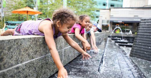 Estudo mostra ligação entre ambientes <br>urbanos e saúde mental das crianças