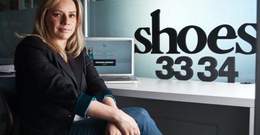 Empreendedora fatura com loja de nicho que só vende sapatos 33 e 34