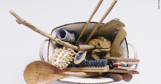 Cestas de tesouros com temas exploram a imaginação infantil
