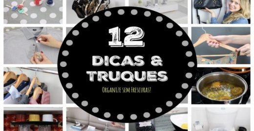 12 dicas práticas de limpeza e organização que vão te surpreender