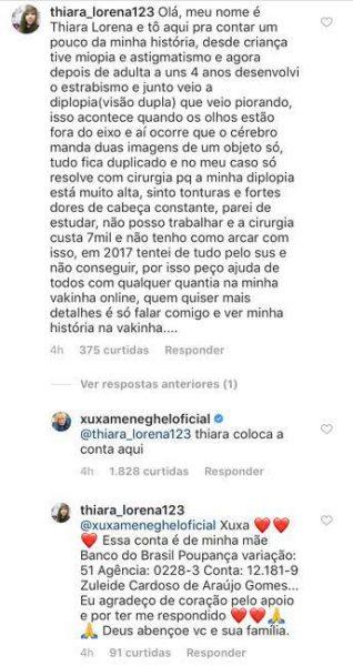 a0bbc7f74 Xuxa se oferece para ajudar fã a pagar cirurgia