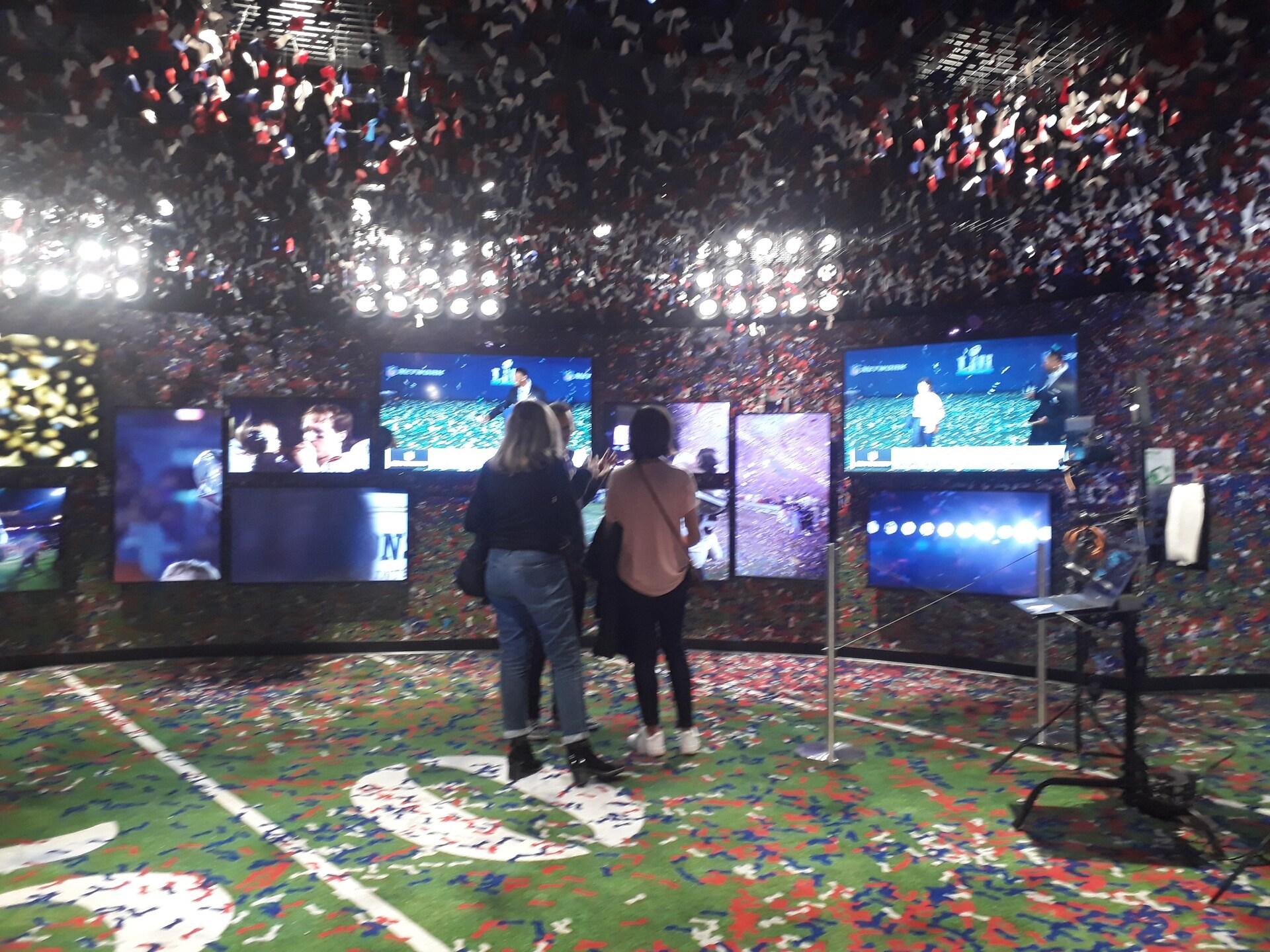 """O""""museu interativo"""" leva o visitante a uma imersão no esporte mais popular dos EUA"""