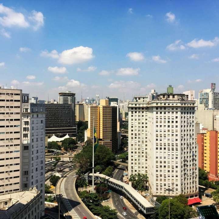 Vista de um dos três mirantes do Edifício Matarazzo