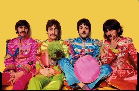 foto clássica dos Beatles