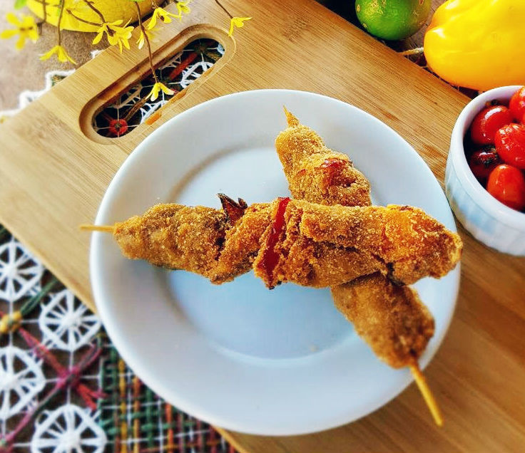 Panitio de Mignon à Moda da Andrelina, prato do Hotel Fazenda Areia que Canta que será servido durante o Brotas Gourmet