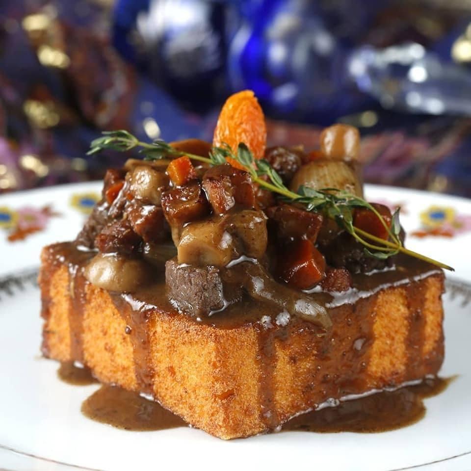 Mamaliga Gypsy, do Gypsy, é um dos pratos participantes do Festival Gastronômico de Búzios