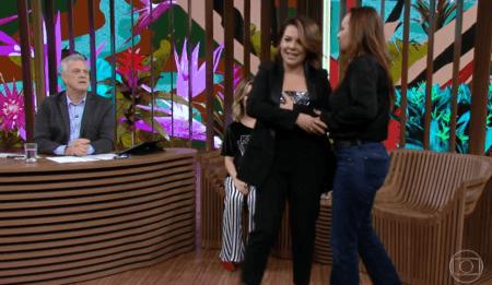 Fernanda Souza problema com roupa