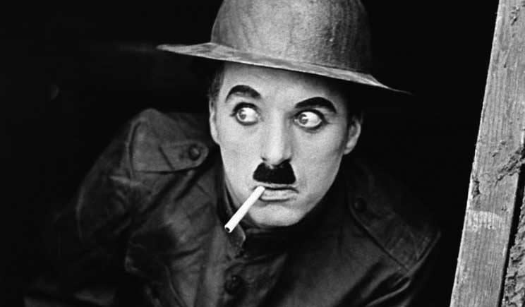 Carlitos se tornou um grande símbolo do cinema mudo