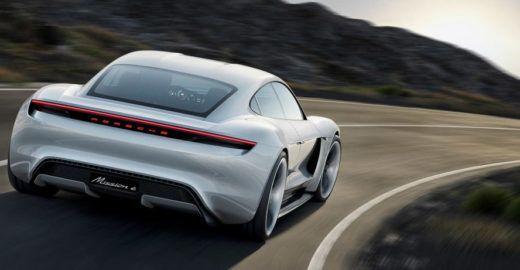 Carro elétrico superesportivo é novo conceito da Porsche