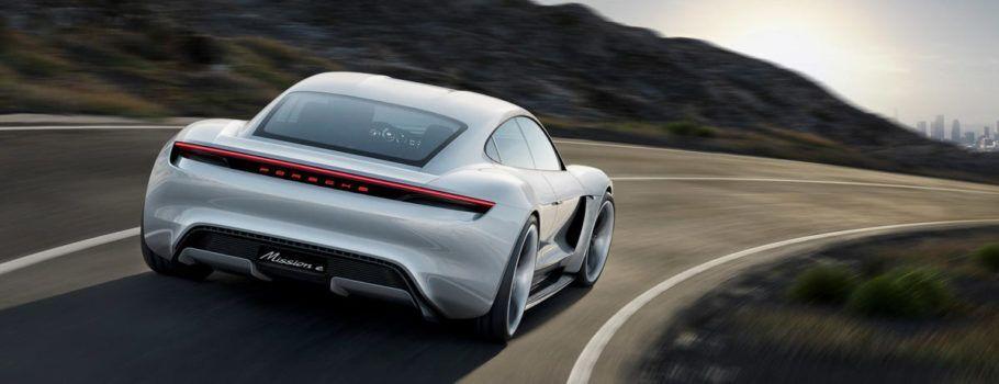 Mission E, o conceito de carro elétrico da Porsche