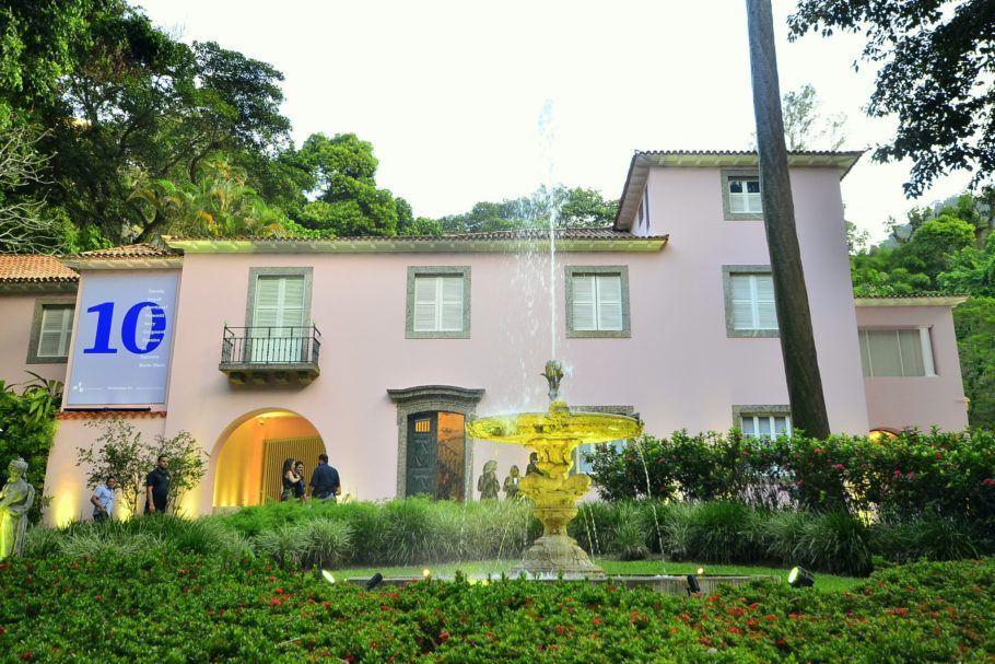 Fachada da Casa Roberto Marinho