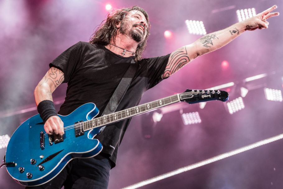 Foo Fighters por Fernando Pires