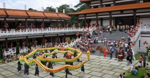 Ano Novo Chinês é celebrado no Templo Zu Lai com programação gratuita