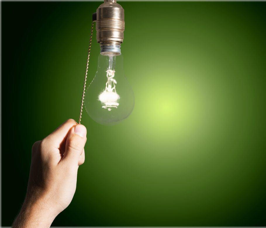 Apagar a luz ao sair é um dos comportamentos mais adotados