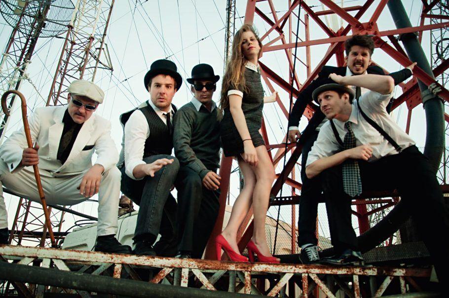 Integrantes da banda El Zombie