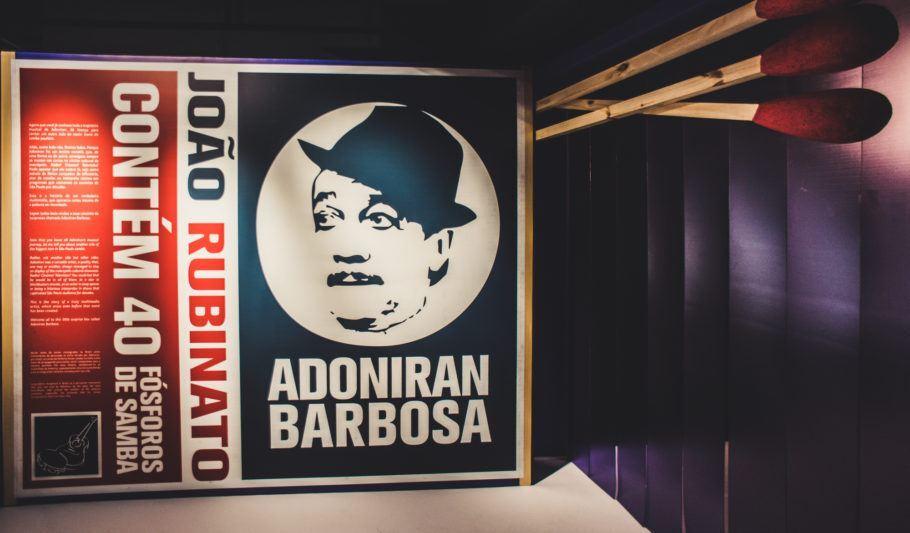 Pôster com foto de Adoniran Barbosa