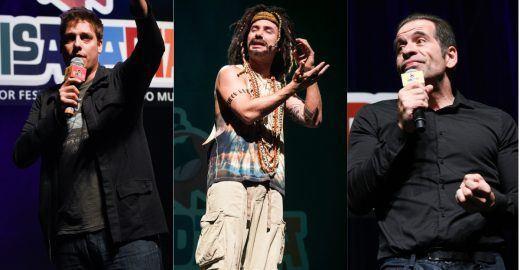 Risadaria 2018 tem shows de Porchat, Marco Luque e Hassum