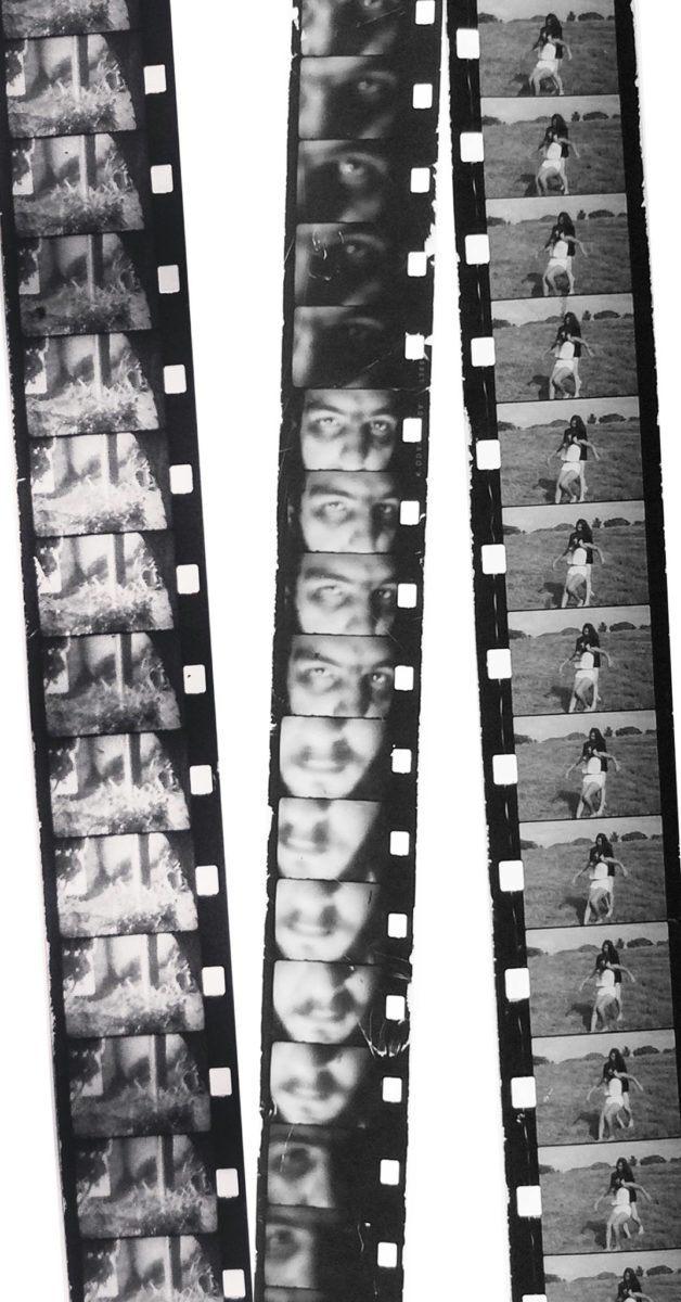 Negativos de filmes em Super 8mm