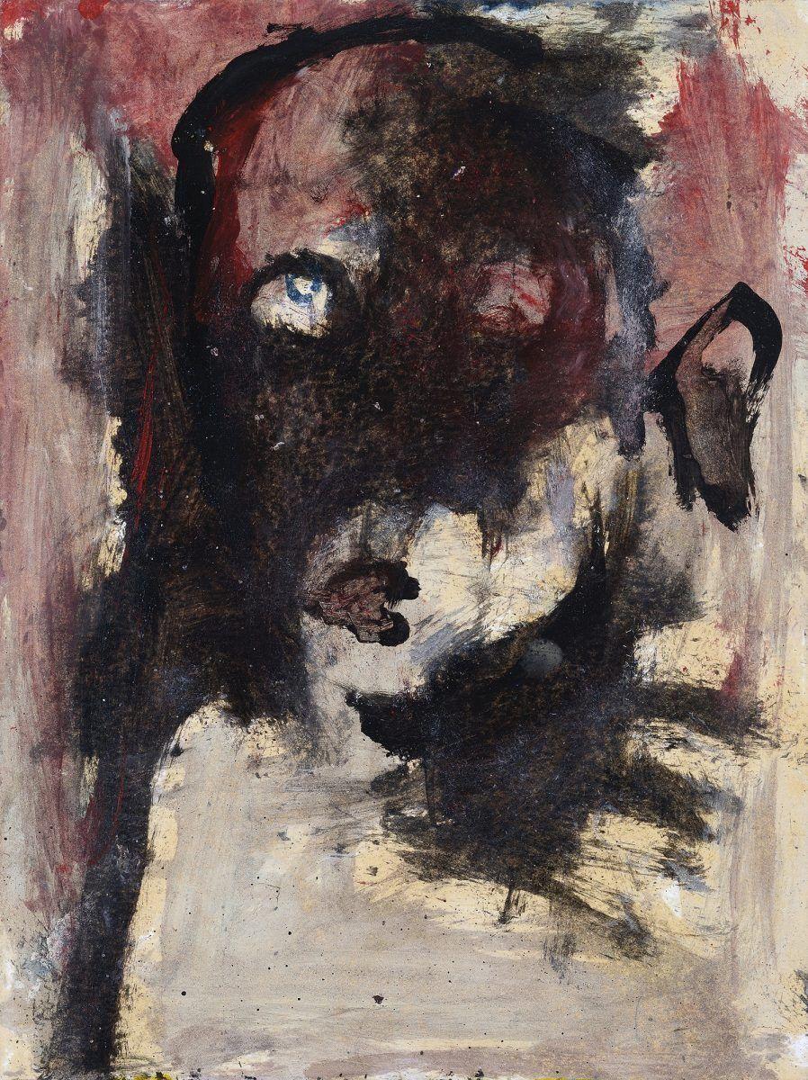 Obra Sem Título (2010) - Flavio-Shiró ficou conhecido por retratar figuras monstruosas e fantasmagóricas