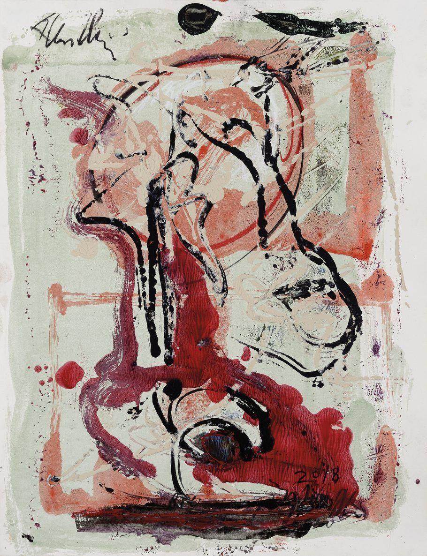 Esta obra sem título (2018) também está exposta na Pinakotheke São Paulo