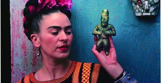 Exposição de Frida Kahlo ocupa a Caixa Cultural