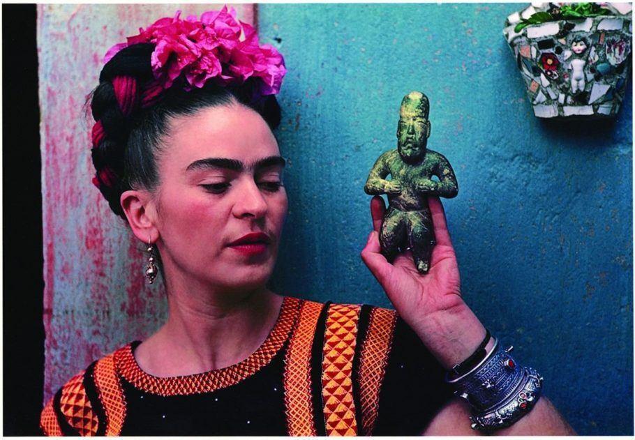 Magdalena Carmen Frida Kahlo y Calderón, mais conhecida como Frida Kahlo