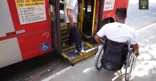 88% das cidades não têm frota adaptada a deficientes, diz IBGE