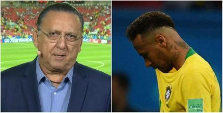 Galvão Bueno Neymar