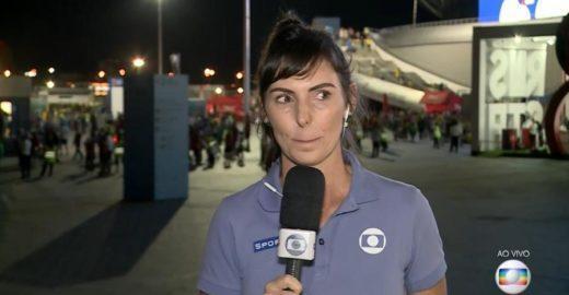 4e2501ea65 Glenda chora ao vivo após derrota do Brasil na Copa do Mundo