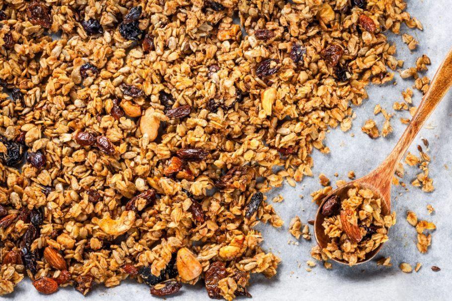 Produtos como granola podem vir em pacotes feitos de celulose