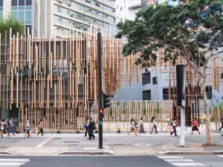 Fachada da Japan House (Avenida Paulista, 52)