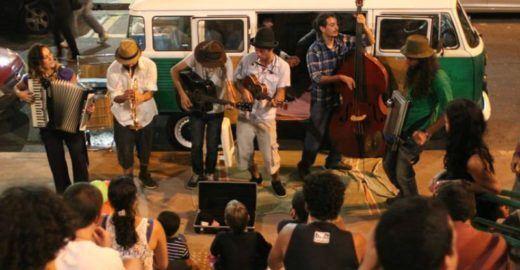 'Arte no Parque' recebe Jazz na Kombi, graffiti ao vivo e oficinas