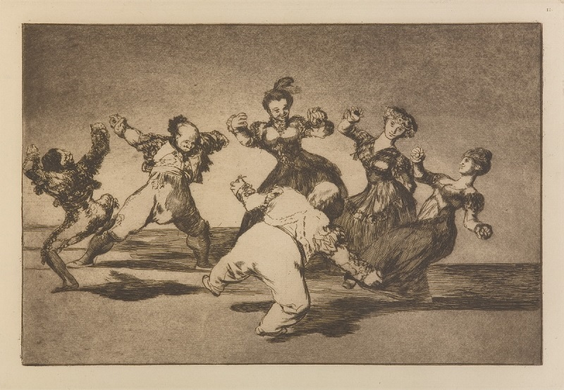 Obra 'Disparate Alegre' integra a exposição 'Loucuras Anunciadas - Francisco Goya'