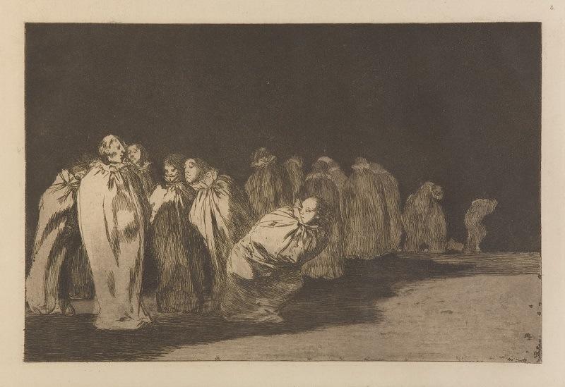 Obra 'Os ensacados' integra a exposição 'Loucuras Anunciadas - Francisco Goya'