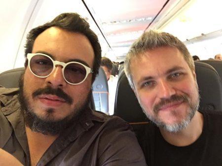 Luis Lobianco e o marido