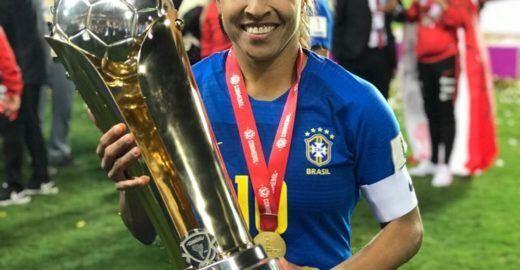 Marta é o termo mais citado em partidas da seleção feminina