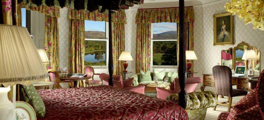 4 - Inverlochy Castle Hotel, em Torlundy, Escócia (97,8)