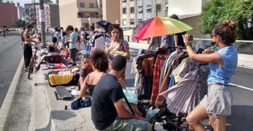 10º Mercado de Pulgas 'Loki Bicho' acontece no Viaduto do Chá