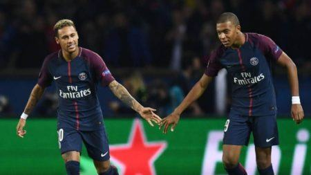 Neymar, Mbappé