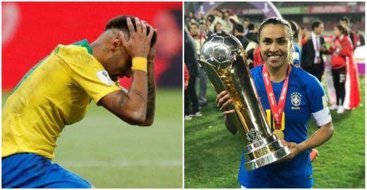 Lista da FIFA coloca Marta entre as 10 melhores; Neymar está fora